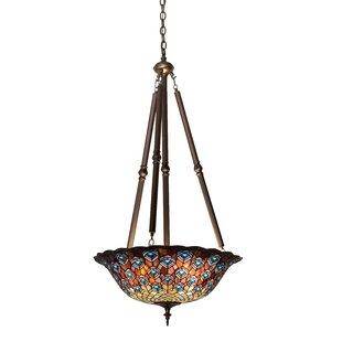 Meyda Tiffany Tiffany 4-Light Bowl Pendant