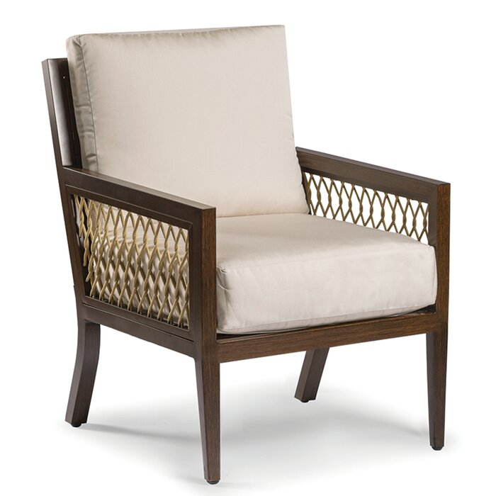 Amazing Echo Bay Patio Chair With Sunbrella Cushions Machost Co Dining Chair Design Ideas Machostcouk