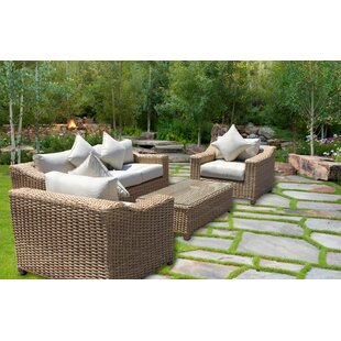 Churchill Deluxe 6 Piece Sofa Set with Cushions