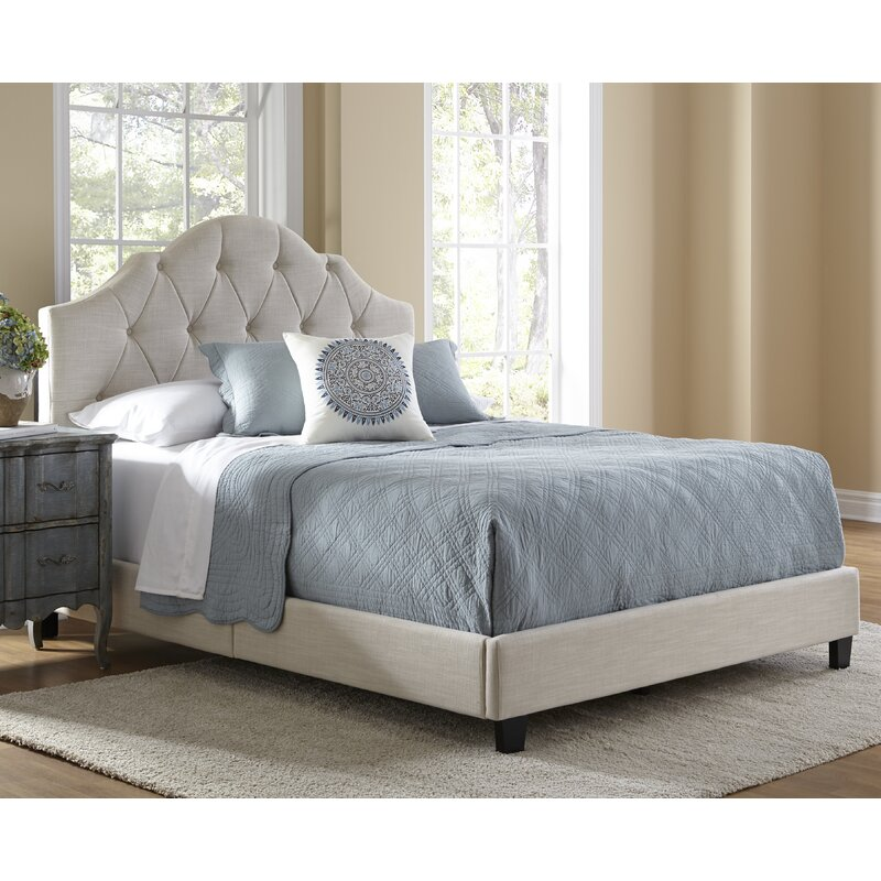 Rizzuto Upholstered Panel Bed