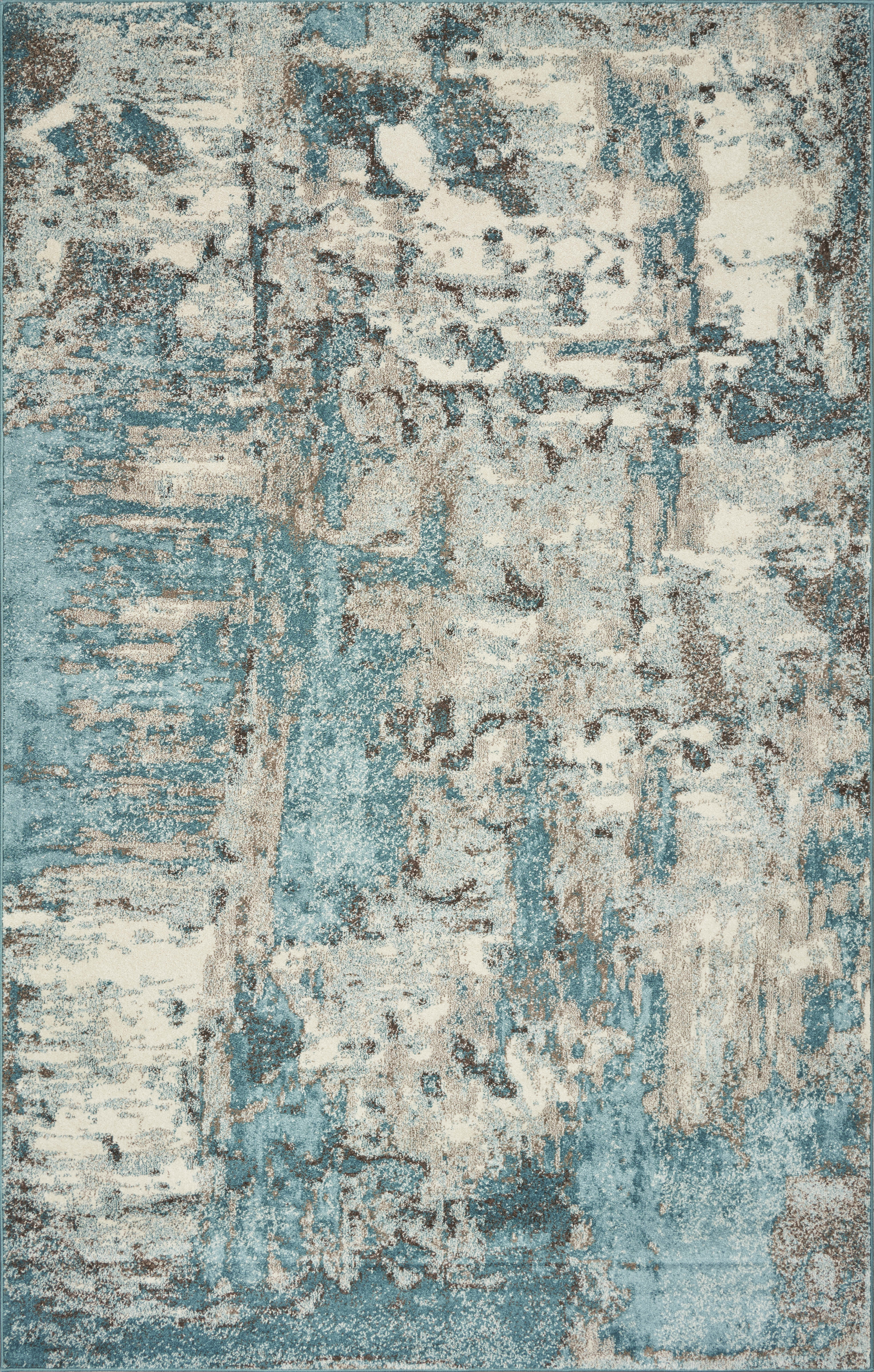 Wrought Studio Strouth Teal Gray Area Rug Reviews Wayfair