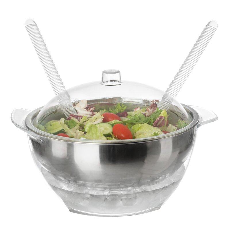 Classic Cuisine 192 Fl Oz 5 Piece Salad Bowl Set Reviews Wayfair