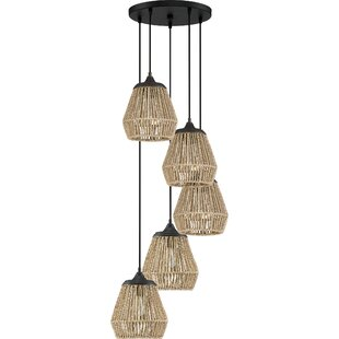 Trace 5-Light Cluster Pendant by Bay Isle Home