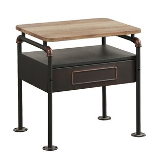 Hatcher 2-Tone Nightstand