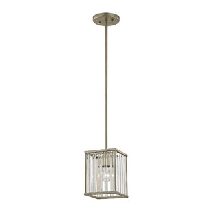 Darby Home Co Bently 1-Light Square/Rectangle Pendant