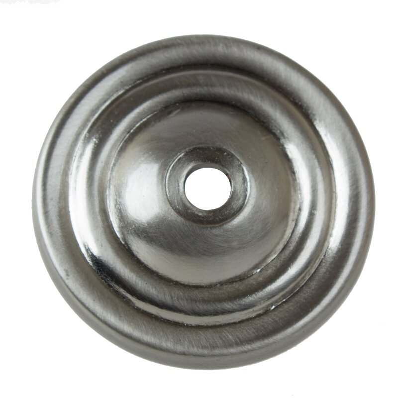 Ordinaire Round Thin Ring Cabinet Knob Backplate