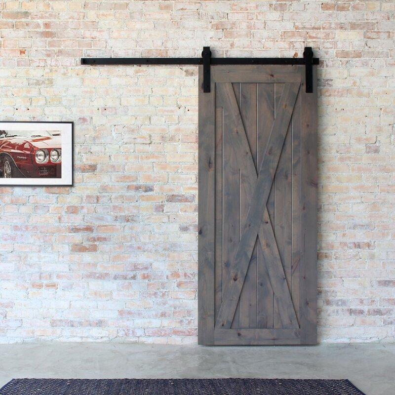 ... Artisan Hardware Classic Barn Door Hardware Reviews Wayfair ...