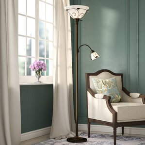 Della 71  Torchiere Floor LampFloor Lamps You ll Love   Wayfair. Floor Lamps In Living Room. Home Design Ideas
