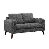Molena 59'' Square Arms Loveseat by George Oliver