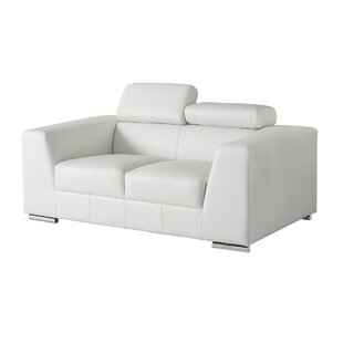 Shop Cesca Leather Loveseat by Orren Ellis