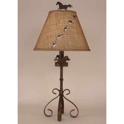 "Coast Lamp Mfg. Rustic Living 31"" Table Lamp"