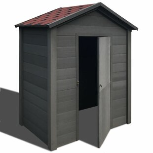 6 Ft. W X 6 Ft. D Apex Wooden Tool Shed By WFX Utility