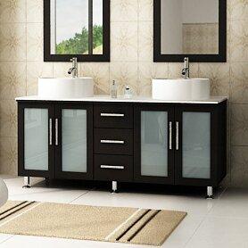 Swearingen 58 Double Bathroom Vanity Set by Ebern Designs