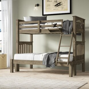 Bedlington Twin over Full Bunk Bed by Greyleigh
