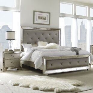 Halstead Upholstered Panel Bed by House of Hampton