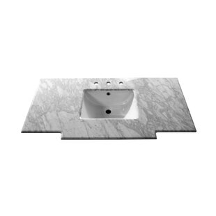 Compare prices Counter 45 Single Bathroom Vanity Top By Bellaterra Home
