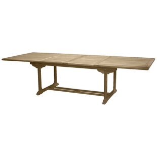 Baek Extendable Teak Dining Table By Sol 72 Outdoor