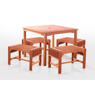 5 Piece Dining Set By Sol 72 Outdoor