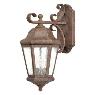 Great Outdoors by Minka Taylor Court 2-Light Outdoor Wall Lantern