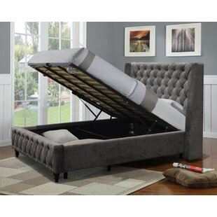 IJlst Double (4'6) Upholstered Bed Frame By Rosalind Wheeler