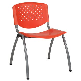 Beau Orange Stacking Chairs Youu0027ll Love | Wayfair