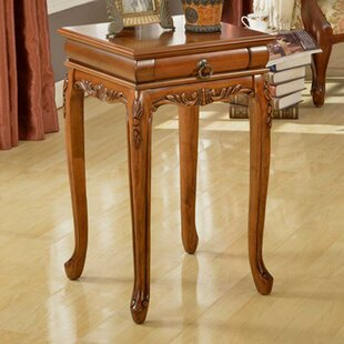Shaped Leg End Table