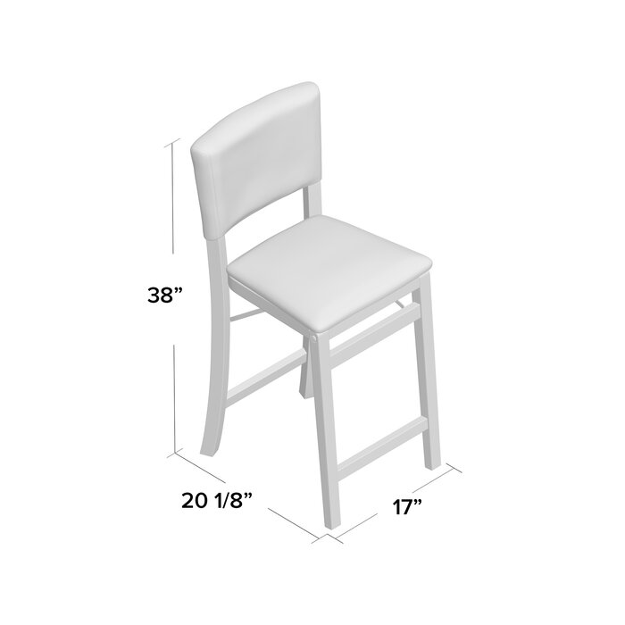 Marvelous Caldwell Folding 25 Bar Stool Uwap Interior Chair Design Uwaporg
