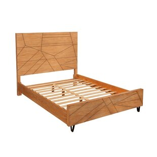 Foundry Select Bower Mahogany Wood Panel Bed