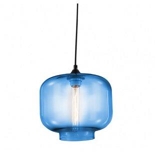 Arambula 1-Light Globe Pendant by Williston Forge
