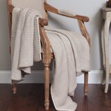 Sather Knitted Cotton Throw