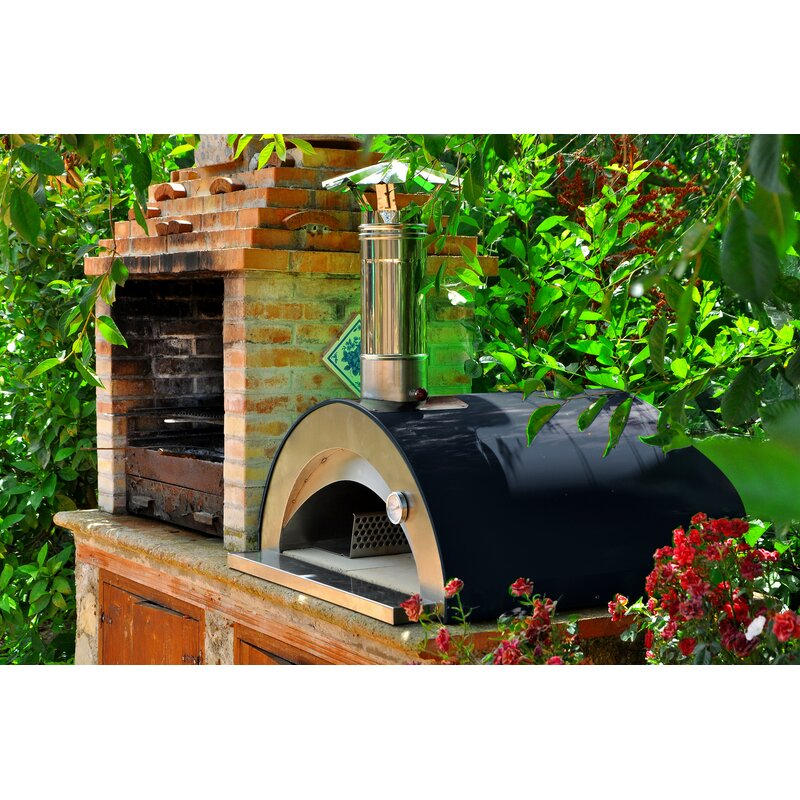 Quesenberry Wood Fired Pizza Oven