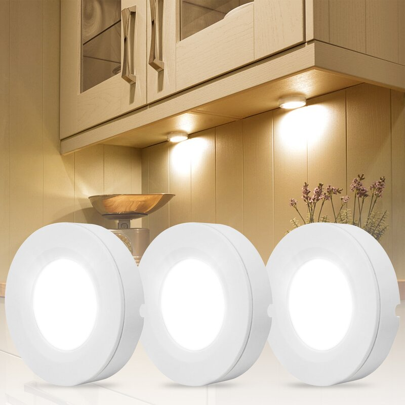 Torchstar Led Under Cabinet Puck Light