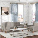 Saginaw 2 Piece Living Room Set by Corrigan Studio®