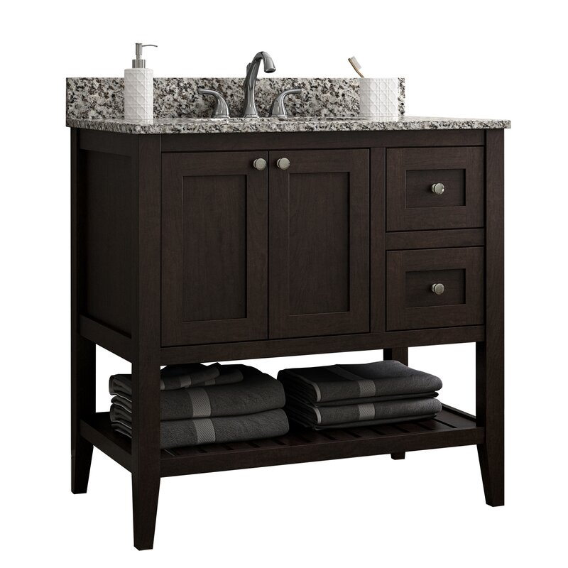 Single Bathroom Vanity Base Only