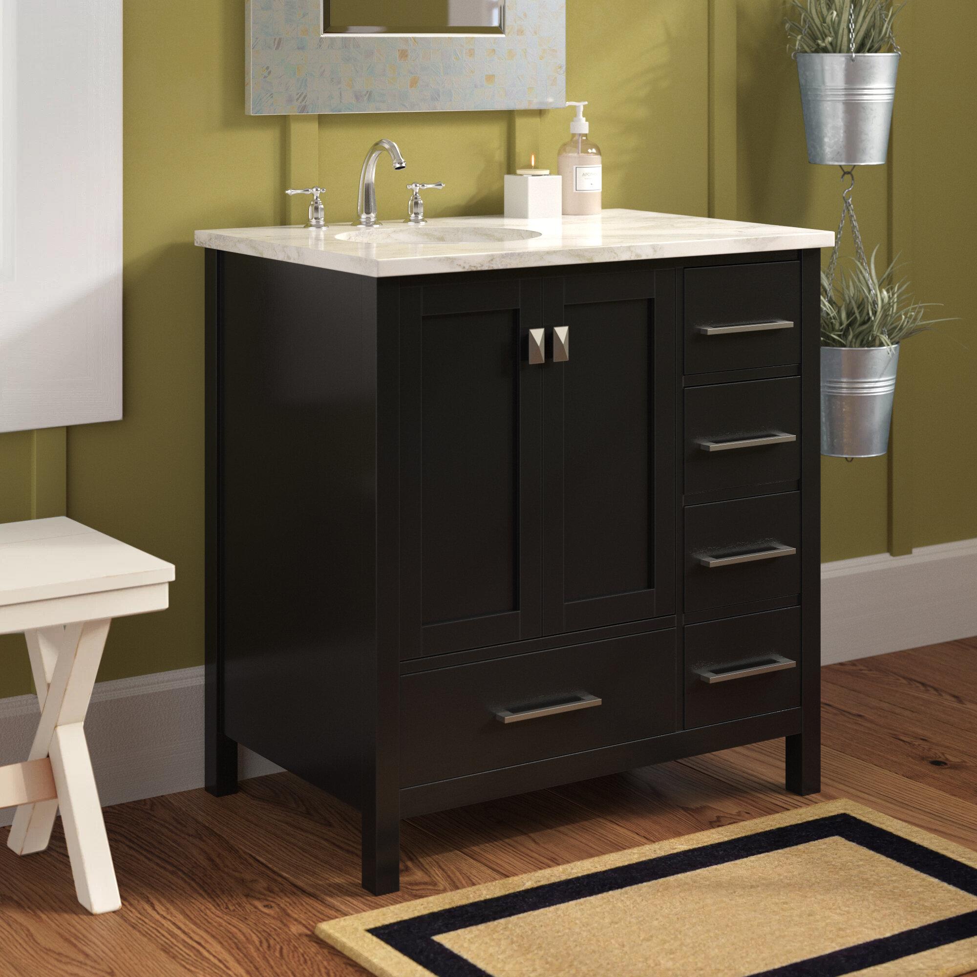 Andover Mills Broadview 32 Single Bathroom Vanity Set Reviews Wayfair