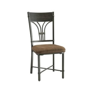 Montrose Solid Wood Upholstered Dining Chair (Set Of 2) by Fleur De Lis Living Best