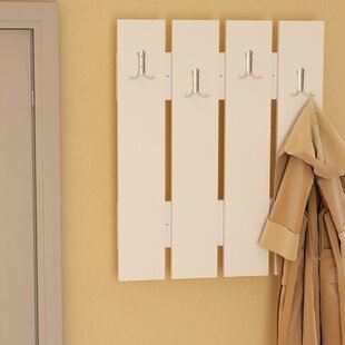 Hugh Wall Mounted Coat Rack By August Grove