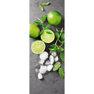 Limes Mint Iii Wall Art On Gl