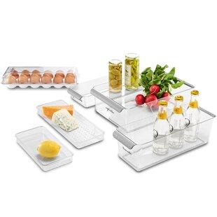 Fridge 6 Container Food Storage Set