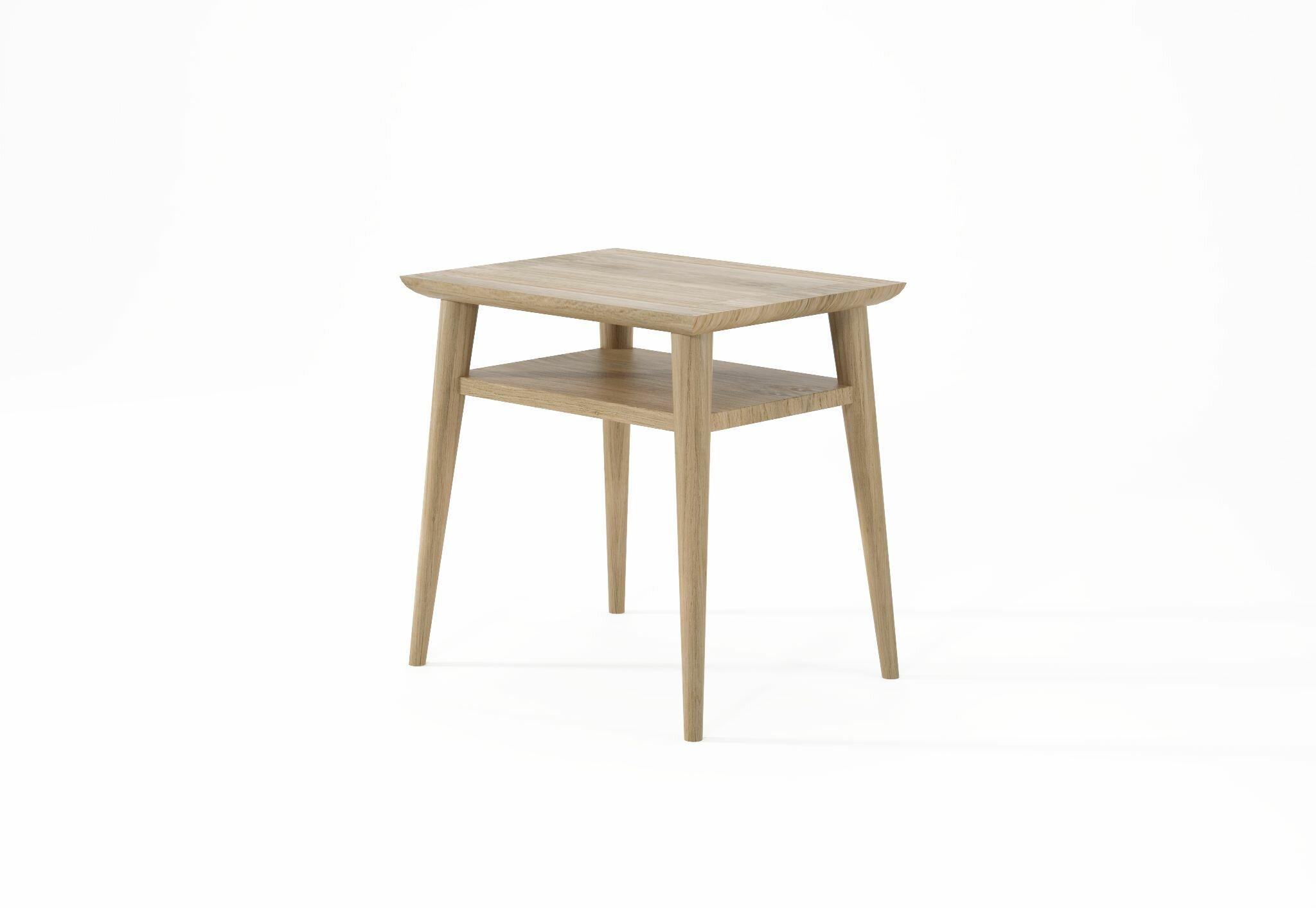 Karpenter Vintage Solid Wood Nightstand In Beige Wayfair