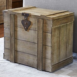 Large Wooden Home Chest