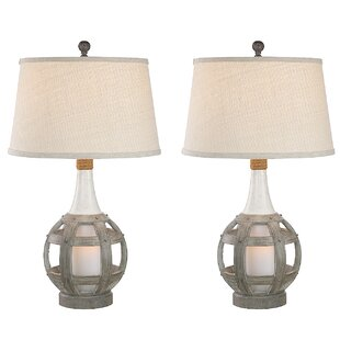 Resendez Coastal Lantern 31 Table Lamp (Set of 2)