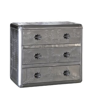 Ace 3 Drawer Lingerie Chest by Lazzaro Leather