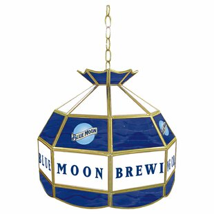Blue Moon 1-Light Pool Table Lights Pendant by Trademark Global