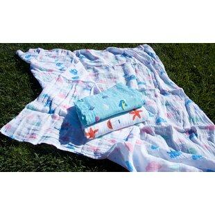 Inexpensive Dwayne Gift Organic Baby Blanket (Set of 3) ByZoomie Kids