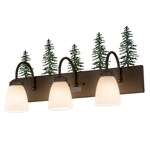 Loon Peak Merlyn Tall Pines 3-Light Vanity Light