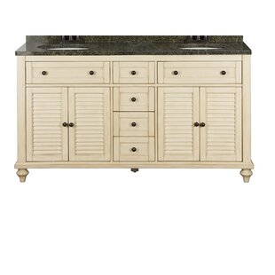 Moises 60 Double Bathroom Vanity Base by August Grove