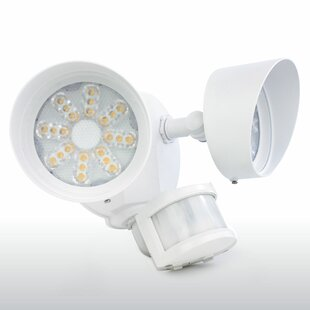 35-Watt LED Outdoor Security with Motion Sensor