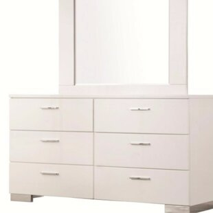 Latitude Run Rogofsky 6 Drawer Double Dresser