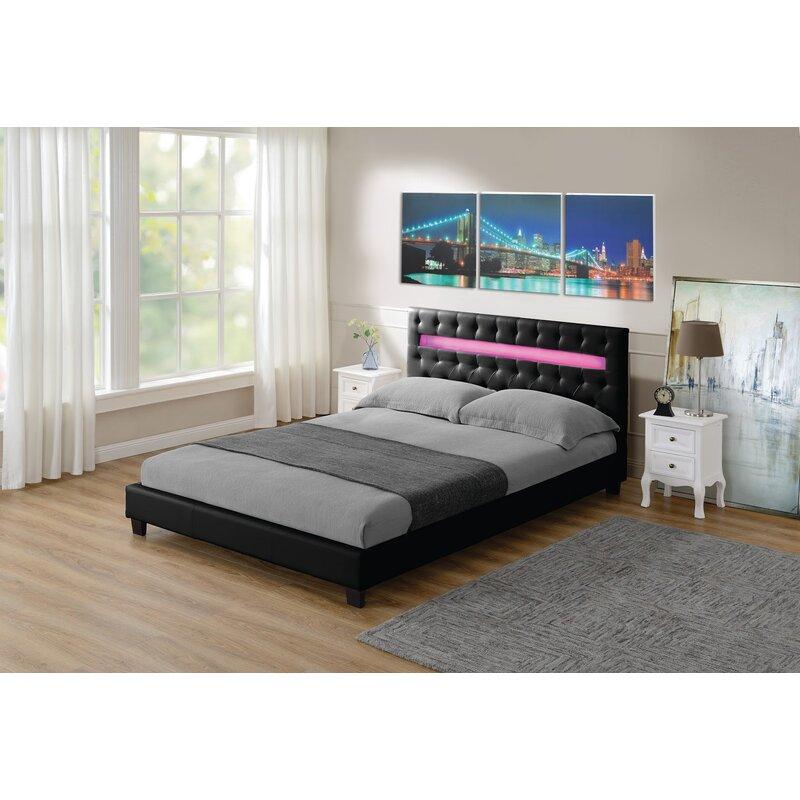 Orren Ellis Jaelyn Tufted Upholstered Platform Bed Wayfair